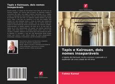 Portada del libro de Tapis e Kairouan, dois nomes inseparáveis