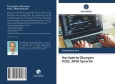 Bookcover of Korrigierte Übungen POO, JAVA Sprache
