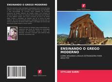ENSINANDO O GREGO MODERNO kitap kapağı