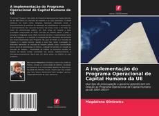 Borítókép a  A implementação do Programa Operacional de Capital Humano da UE - hoz