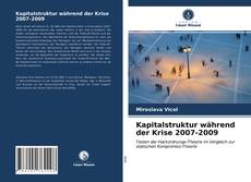 Capa do livro de Kapitalstruktur während der Krise 2007-2009