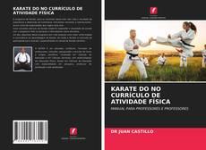 Copertina di KARATE DO NO CURRÍCULO DE ATIVIDADE FÍSICA