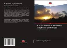 W. V. Quine sur la distinction analytique-synthétique的封面
