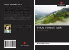 Bookcover of Culture of different epochs