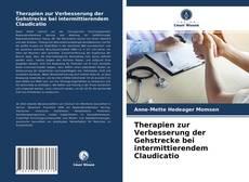 Therapien zur Verbesserung der Gehstrecke bei intermittierendem Claudicatio kitap kapağı