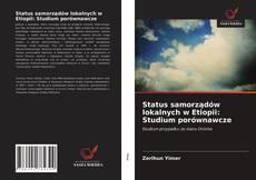 Capa do livro de Status samorządów lokalnych w Etiopii: Studium porównawcze