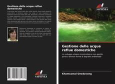 Copertina di Gestione delle acque reflue domestiche