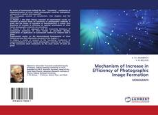 Обложка Mechanism of Increase in Efficiency of Photographic Image Formation