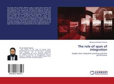 The role of span of integration的封面