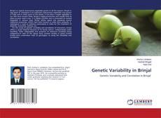 Portada del libro de Genetic Variability in Brinjal