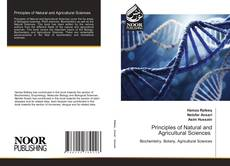 Capa do livro de Principles of Natural and Agricultural Sciences
