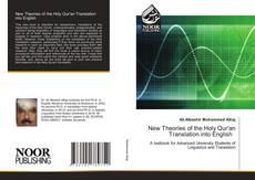Capa do livro de New Theories of the Holy Qur'an Translation into English