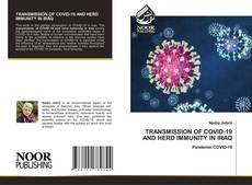 Capa do livro de TRANSMISSION OF COVID-19 AND HERD IMMUNITY IN IRAQ