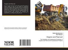 Bookcover of Organic and Peat soil