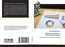 Statistical analysis in multivariate sampling kitap kapağı