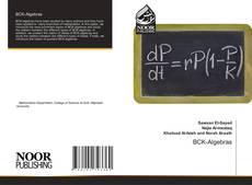Portada del libro de BCK-Algebras