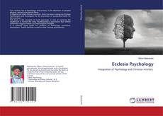 Bookcover of Ecclesia Psychology
