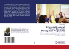 Bookcover of Differential Impact of Primary Education Development Programmes