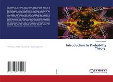 Bookcover of Introduction to Probability Theory