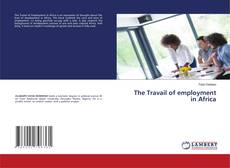 Bookcover of The Travail of employment in Africa