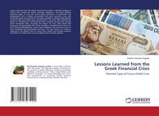 Borítókép a  Lessons Learned from the Greek Financial Crisis - hoz