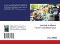 Bookcover of Text Neck Syndrome