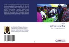 Bookcover of entrepreneurship