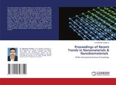 Capa do livro de Proceedings of Recent Trends in Nanomaterials & Nanobiomaterials