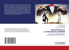Bookcover of Manifestations of MACHIAVELLIANISM