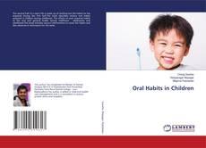 Bookcover of Oral Habits in Children