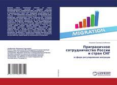 Portada del libro de Приграничное сотрудничество России и стран СНГ