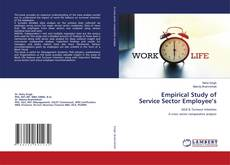 Empirical Study of Service Sector Employee's的封面