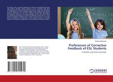 Bookcover of Preferences of Corrective Feedback of ESL Students