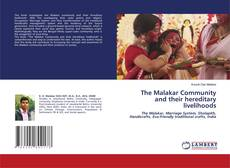 Portada del libro de The Malakar Community and their hereditary livelihoods