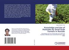 Buchcover von Knowledge and Use of Pesticides by Small Scale Farmers in Ikorodu
