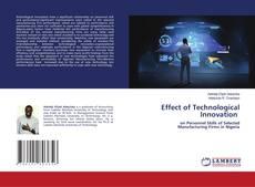Обложка Effect of Technological Innovation