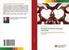 Inclusão social de crianças especiais kitap kapağı
