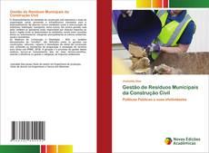 Buchcover von Gestão de Resíduos Municipais da Construção Civil
