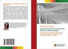 Capa do livro de Argamassas Incorporadas com Resíduos da Mineração