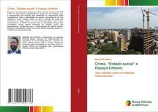 "Borítókép a  Crime, ""Estado social"" e Espaço Urbano - hoz"