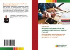 Capa do livro de Responsabilidade Social em entidades de Ensino no Distrito Federal