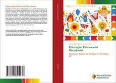 Educação Patrimonial Decolonial kitap kapağı