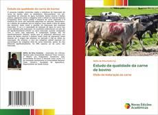 Обложка Estudo da qualidade da carne de bovino