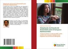 Capa do livro de Adaptação da Escala de Ansiedade para Crianças e Adolescentes