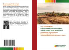Portada del libro de Representações Sociais de Sustentabilidade Ambiental