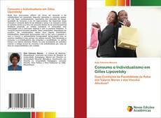 Обложка Consumo e Individualismo em Gilles Lipovetsky
