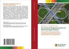 Copertina di As Culturas Organizacionais na Administração Pública
