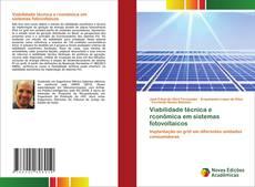 Обложка Viabilidade técnica e rconômica em sistemas fotovoltaicos