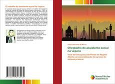 Bookcover of O trabalho do assistente social na vepera