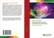 Buchcover von Análise Numérica para formação de professores
